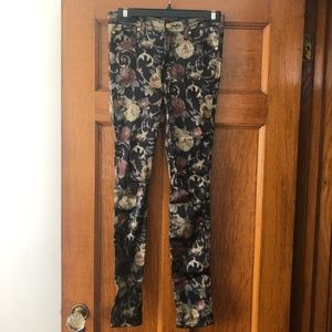 7 for all mankind Floral Dressy Jeggings